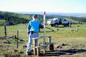 Kevin Liddiard, new stile Bundaleer Forest