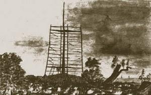 Mt Lofty Summit, November 1843 (W A Cawthorne Mitchell Library NSW)