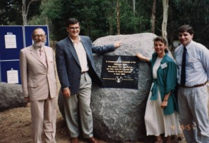 Warren Bonython opening of the Heysen Trail