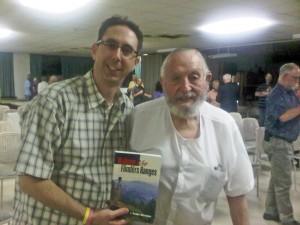 Simon Blight with Warren Bonython, 2010