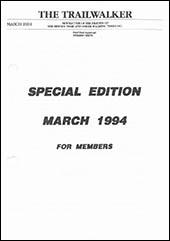 March 1994 Trailwalker Magazine