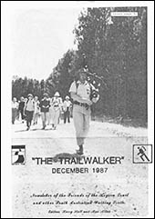 December 1987 Trailwalker Magazine