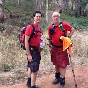 Simon Cameron (left) and Julian Monfries