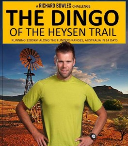 Richard Bowles to run the Heysen Trail, Dingo of the Heysen Trail